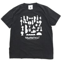 TACOMA FUJI RECORDS タコマフジレコード|THROBBING BUMS TEE (ブラック)(プリントTシャツ)