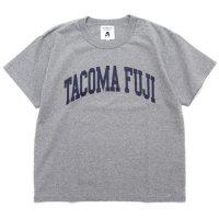 TACOMA FUJI RECORDS タコマフジレコード|COLLEGE LOGO TEE (ヘザーグレイ)(プリントTシャツ)