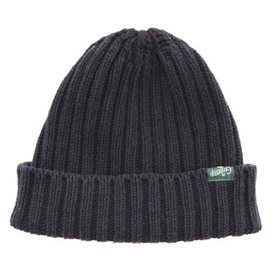 GO HEMP ゴーヘンプ RIB WATCH CAP (ブラック)(ニット帽 コットンニット)