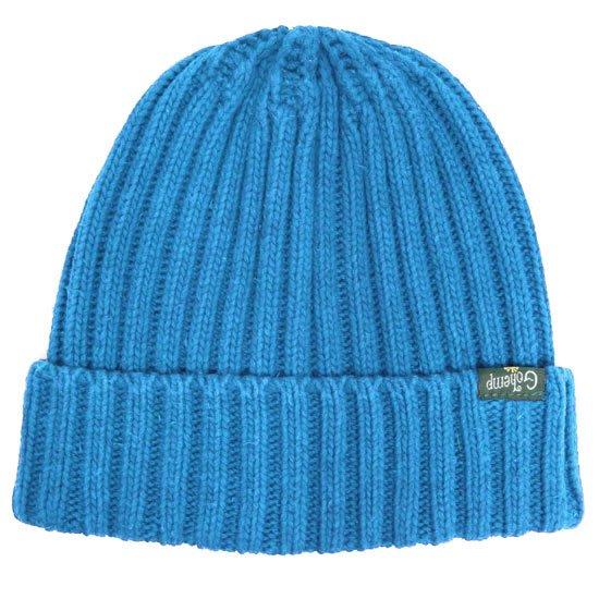GO HEMP ゴーヘンプ RIB WATCH CAP (ブルーブルー)(ニット帽 コットンニット)