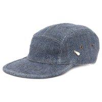 GO HEMP ゴーヘンプ|LATHUN CAP (ネイビー)(ヘンプ100%)