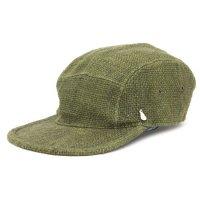 GO HEMP ゴーヘンプ|LATHUN CAP (カーキ)(ヘンプ100%)