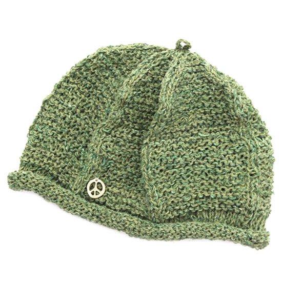 GO HEMP ゴーヘンプ|CHANA CAP (カーキ)(ベレー帽)