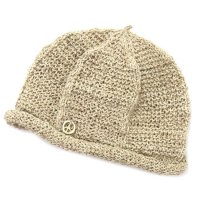 GO HEMP ゴーヘンプ|CHANA CAP (ナチュラル)(ベレー帽)