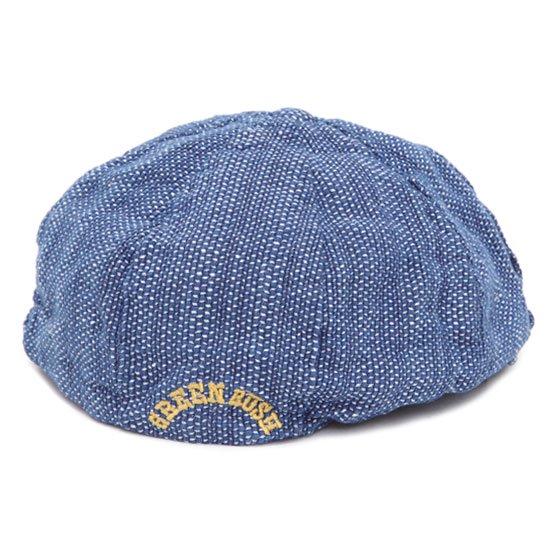 GO HEMP ゴーヘンプ GREEN RUSH BERET (ドビー)(ベレー帽)