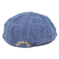 GO HEMP ゴーヘンプ|GREEN RUSH BERET (ドビー)(ベレー帽)