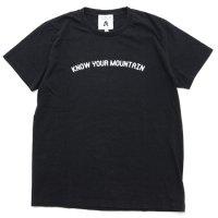 TACOMA FUJI RECORDS タコマフジレコード|KNOW YOUR MOUNTAIN TEE (ブラック)(プリントTシャツ)