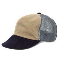 Phatee ファティ|MESH PHAT CAP (ベージュ)(メッシュキャップ)
