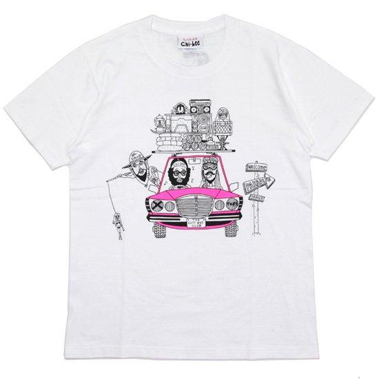 chi-bee チービー |PARADISE TEE (ホワイト)(プリントTシャツ)