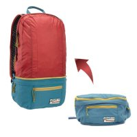BURTON バートン|Burton Sleyton Packable Hip 18L Pack (ハイドロ/タンドオリ)(ウエストバッグ ザック)