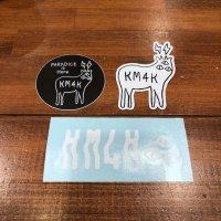 KM4K カモシカ|VARIETY SET  バラエティセット (ステッカー&マグネット)
