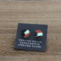 Indian Jewelry|Crescent Pierce (ピアス)