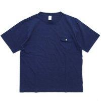 Jackman ジャックマン|JM5850 Pocket T-shirt (ネイビー)(ポケTEE)