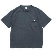 Jackman ジャックマン|JM5850 Pocket T-shirt (ダークグレイ)(ポケTEE)