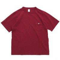 Jackman ジャックマン|JM5850 Pocket T-shirt (カージナル)(ポケTEE)