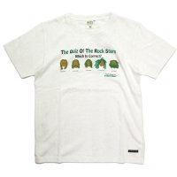 A HOPE HEMP アホープヘンプ|Rock Stars S/S Tee (ナチュラル)(ヘンプコットン Tシャツ)