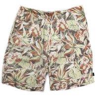 A HOPE HEMP アホープヘンプ|ALOHA Shorts (ブラウン)(ショートパンツ ヘンプコットン)