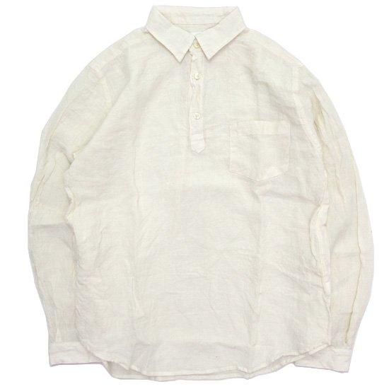 SPINNER BAIT スピナーベイト|グランジウォッシュ ラモスシャツ (ホワイト)(長袖シャツ)