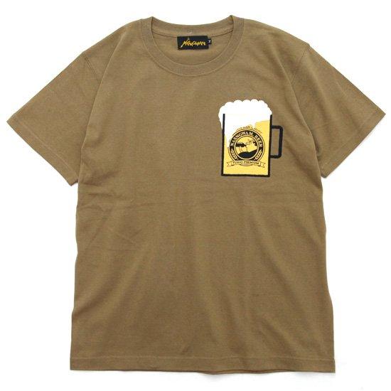 Nasngwam ナスングワム|BEER TEE (ベージュ)(ビールTEE)