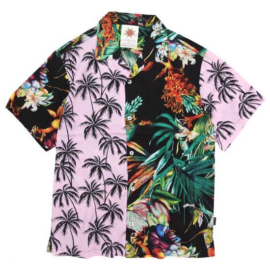 Nasngwam ナスングワム|KAILUA S/S SHIRTS (ピンク)(アロハシャツ)