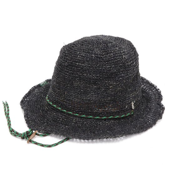 GO HEMP ゴーヘンプ|HIGHLAND HAT CODE (ブラック)(ハイランドハット)