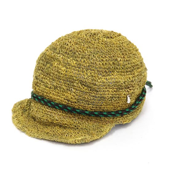 GO HEMP ゴーヘンプ DELI TRACK CAP (イエロー)(デリキャップ)