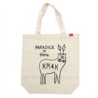 KM4K カモシカ|OG ECO BAG (LOGO)(ロゴ トートバッグ)