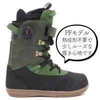 AREth アース |× Deeluxe ディーラックス 19-20 RIN PF (熱成型無しでそのまま履けるPFインナー)(リン スノーボード用ブーツ)