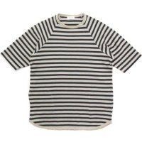 SPINNER BAIT スピナーベイト|へーマンボーダー S/S TEE (ブラウン)(ボーダーTシャツ)