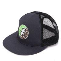 GO HEMP ゴーヘンプ|BOLT MESH CAP (ブラック)(メッシュキャップ)