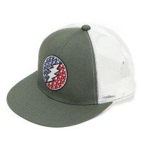 GO HEMP ゴーヘンプ|BOLT MESH CAP (オリーブ)(メッシュキャップ)