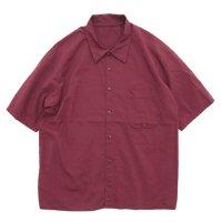 remilla レミーラ|レイコットシャツ (朱色)(半袖シャツ)