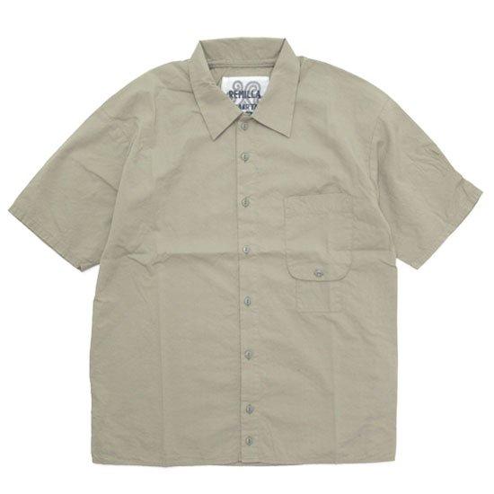 remilla レミーラ|レイコットシャツ (サンド)(半袖シャツ)