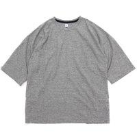 HiHiHi ひひひ|5分袖 ポケット Tee (グレー)(Tシャツ)
