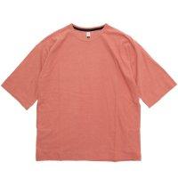 HiHiHi ひひひ|5分袖 ポケット Tee (ピンク)(Tシャツ)