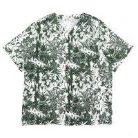 GO HEMP ゴーヘンプ|麻朝ひょうたん SUZUMI SHIRTS (グリーン)(ヘンプ100% シャツ)
