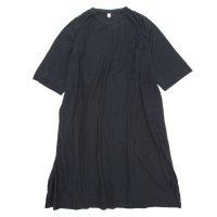HiHiHi ひひひ|ひひひワンピ (クロ)(Tシャツ ワンピース)