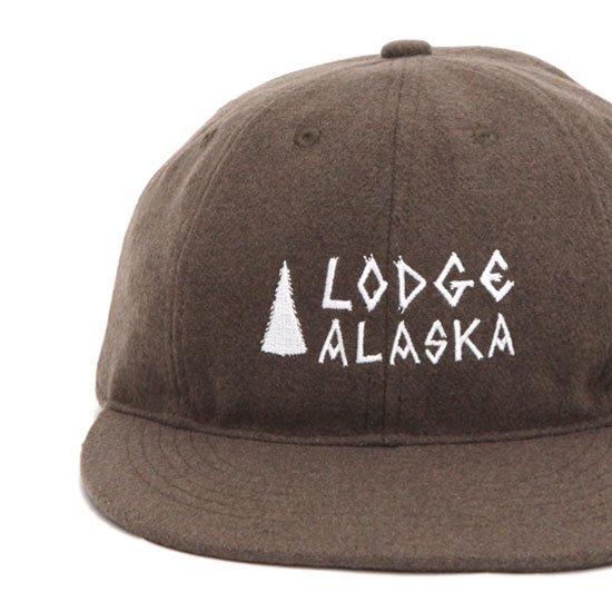 TACOMA FUJI RECORDS タコマフジレコード Lodge ALASKA (ブラウン)(キャップ)