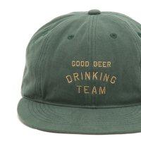 TACOMA FUJI RECORDS タコマフジレコード|GOOD BEER DRINKING TEAM (ダークグリーン)(キャップ)