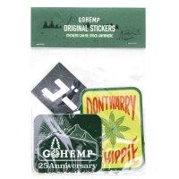 GO HEMP ゴーヘンプ|ORIGINAL STICKERS (Dセット)(ステッカー)