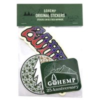 GO HEMP ゴーヘンプ|ORIGINAL STICKERS (Cセット)(ステッカー)