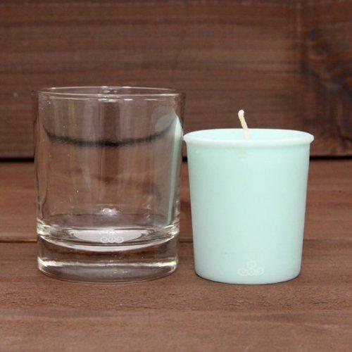 KUUMBA クンバ|FRAGRANCE CANDLE グラス付きセット (SWEET RAIN)(キャンドル)