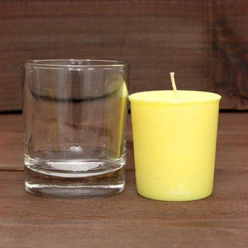 KUUMBA クンバ|FRAGRANCE CANDLE グラス付きセット (HAPPY)(キャンドル)