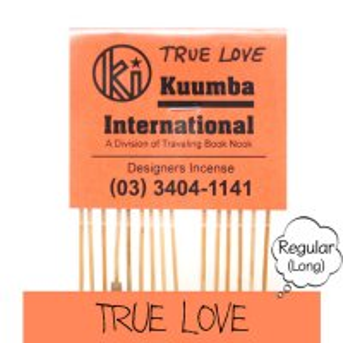 KUUMBA クンバ|INCENSE regular (TRUE LOVE)(お香 レギュラーサイズ)