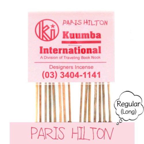 KUUMBA クンバ|INCENSE regular (PARIS HILTON)(お香 レギュラーサイズ)