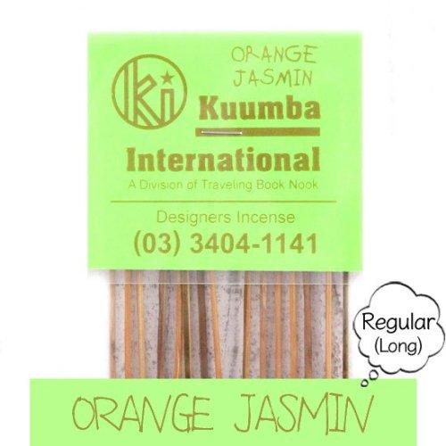 KUUMBA クンバ|INCENSE regular (ORANGE JASMIN)(お香 レギュラーサイズ)