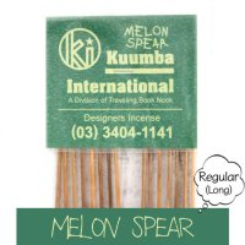 KUUMBA クンバ|INCENSE regular (MELON SPEAR)(お香 レギュラーサイズ)