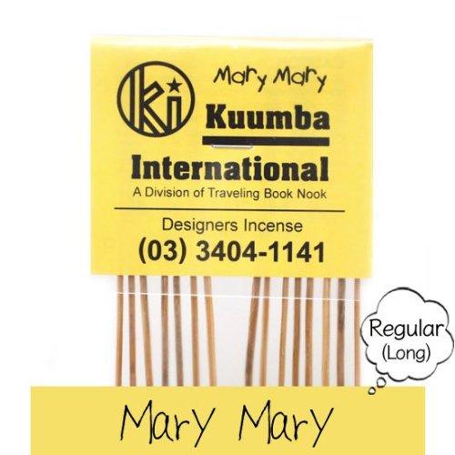 KUUMBA クンバ|INCENSE regular (Mary Mary)(お香 レギュラーサイズ)