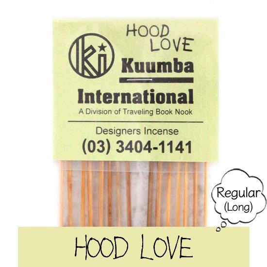 KUUMBA クンバ|INCENSE regular (HOOD LOVE)(お香 レギュラーサイズ)