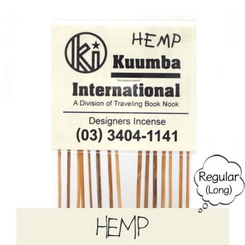 KUUMBA クンバ|INCENSE regular (HEMP)(お香 レギュラーサイズ)